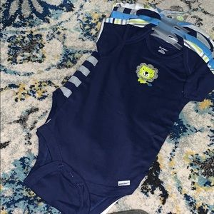 Bundle of baby body suit
